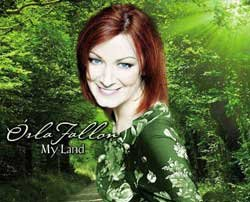 """Promotional graphic from the """"Orla Fallon's My Land"""" DVD/CD."""