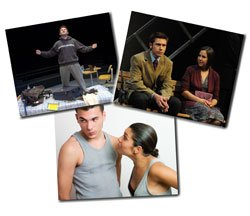 Promotional graphic for the Plays By Young Writers Festival, April 2-10, 2011 at Lyceum Theatre.