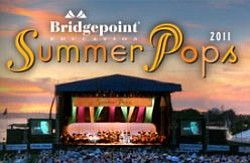 Promotional graphic for Summer Pops 2011.