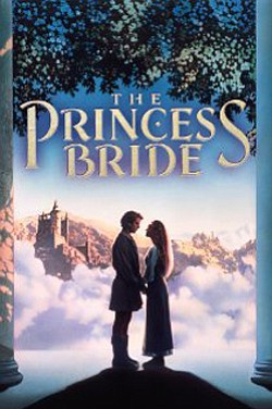 Princess Bride (1987) movie poster.