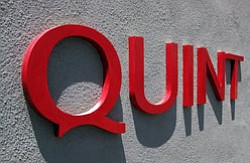 Sign for Quint Contemporary Art