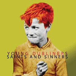 "Promotional Graphic of Album Cover, ""Saints and Sinners"" by Young Dubliners."