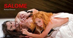 "Promotional Graphic for ""Salome"" by Richard Strauss courtesy of San Diego Opera."