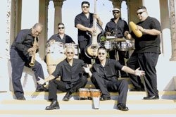 Promotional photo of Orquesta Primo.