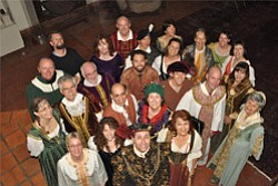 Image of the La Jolla Renaissance Singers.