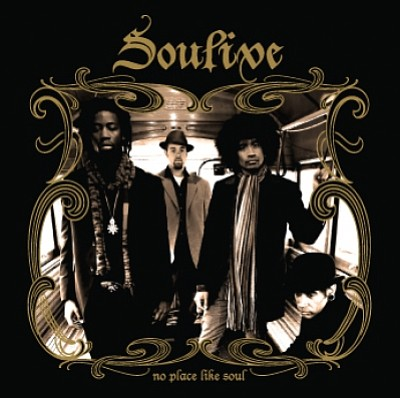 "Cover image of Soulive's album ""No Place Like Soul."""