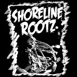 Graphical logo for the band, Shoreline Rootz.