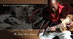 Graphic of Musical Artist Charles Wright.