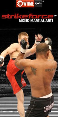 Promotional image of Strikeforce Mixed Martial Arts.