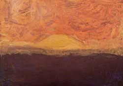 "Promotional image of the painting titled ""Sunset."" Courtesy of the SDSU Children's Center"