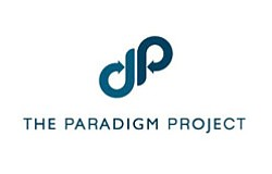 Promotional logo for The Paradigm Project.