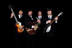 Image of the Beatles tribute band- Rubber Souls
