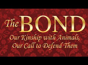 "Graphic logo for the event ""The Bond To Benefit Animal Ca..."