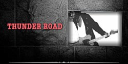 Graphical image of the band, Thunder Road.