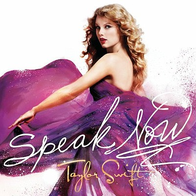 "Cover of Taylor Swift's album, ""Speak Now."" The world-wid..."