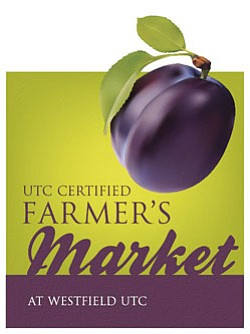 Promotional graphic for the UTC Certified Farmer's Market...