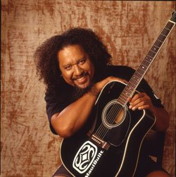 Image of Hawaiian Grammy winner Willie K.