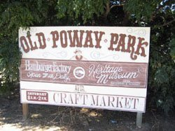 Graphic of Old Poway Park.