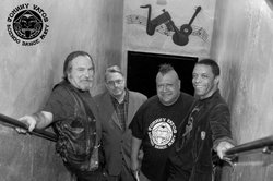 Image of Johnny Vatos Boingo Dance Party who will be performing at the 4th & B on July 12th.