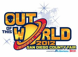 Promotional graphic for the 2012 San Diego County Fair.