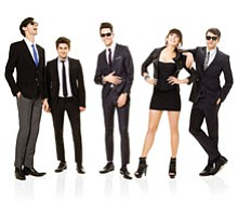 Image of Cobra Starship performing at the 2012 San Diego County Fair on June 8th.