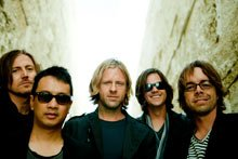 Photograph of Switchfoot who will be performing at the 2012 San Diego County Fair on June 15th at 7:30pm.