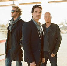 Photograph of Train who is performing at the 2012 San Die...