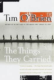 "Book cover for ""The Things They Carried"" by Tim O'Brien."