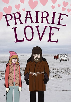 "Promotional graphic for the film, ""Prairie Love"""