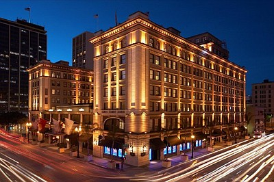 Exterior image of The US Grant Hotel.