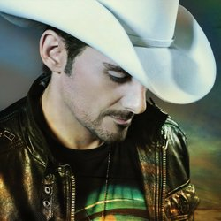 Photograph of Brad Paisley who will be performing at the Cricket Wireless Amphitheater on October 18th.