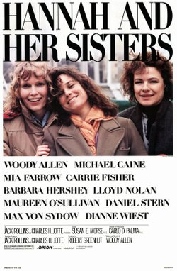 """Promotional graphic for the film, """"Hannah and Her Sisters"""""""