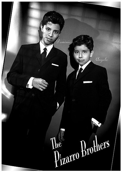 Image of the The Pizarro Brothers, who will be performing at the Upstart Crow on December 29th, 2012.