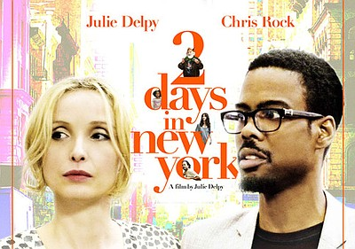 "Promotional graphic for the film, ""2 Days in New York"""