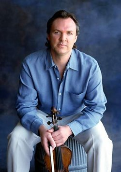 Image of Mark O'connor who will be performing at the Classics 4 Kids Presents 'Bluegrass And Bach With Mark O'Connor' Family Concert on March 24th, 2013.
