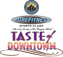 """Promotional graphic for the San Diego's 12th Annual """"Taste of Downtown"""" on October 11th, 2012. Courtesy of McFarlane Promotions."""