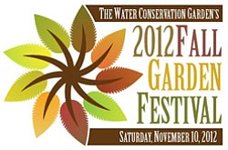 Graphical logo for the Water Conservation Garden's Fall F...