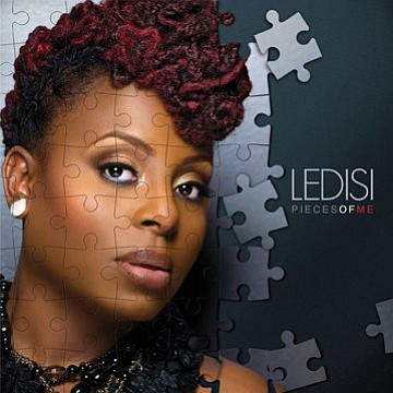 "Image of Ledisi's new album titled ""Pieces of Me."""