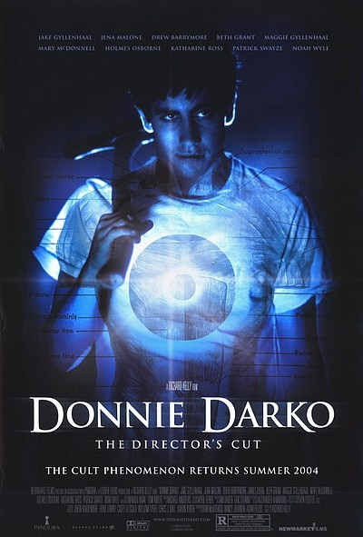 "Promotional graphic for the film, ""Donnie Darko"""