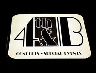 Logo for the 4th & B