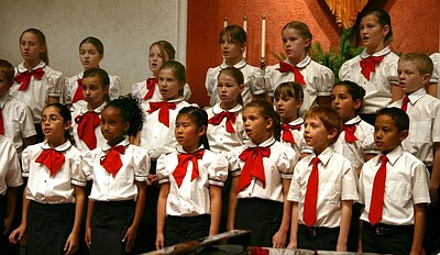 Image of the San Diego Children's Choir from a previous p...