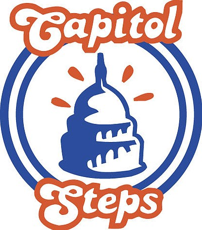 Image for the Capitol Steps comedy group, who will be performing at the Poway Center for the Performing Arts on February 16th, 2013.