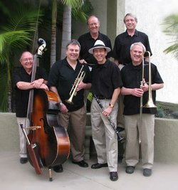 "Image of High Society Jazz Band, who will be performing at the ""Black & White Ball"" on September 29th, 2012."
