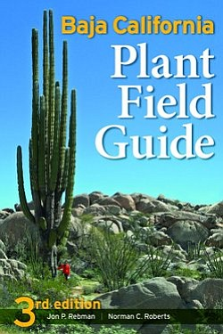 "Book cover of Jon Rebman's ""Baja California Plant Field G..."