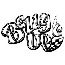 Logo for the Belly Up Tavern.