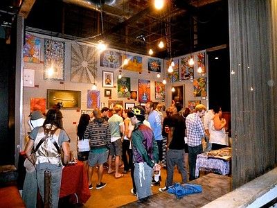 Image of BASIC supporting San Diego's local artists. Cour...