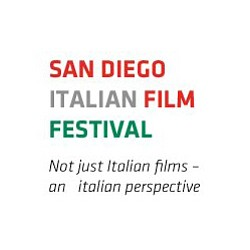 Promotional graphic for the San Diego Italian Film Festival taking place from October 26th through November 11th, 2012. Courtesy of the SDIFF.