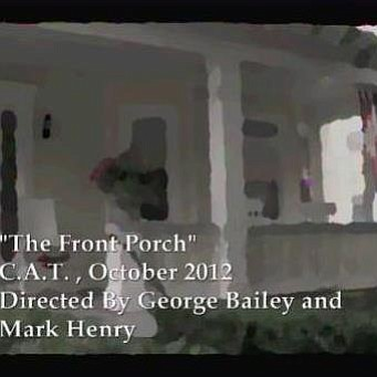 "Promotional graphic for the world premiere of ""The Front Porch"" on October 5th, 2012. Courtesy of Community Actors Theater."