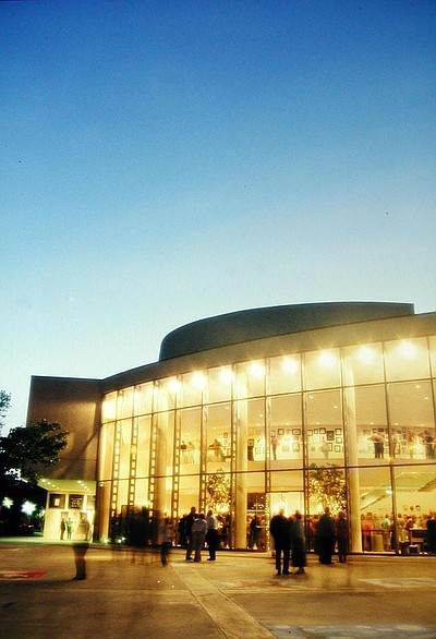 Exterior image of Poway Center for the Performing Arts.