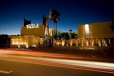 Exterior photo of the Pearl Hotel. Courtesy of the Perl H...